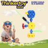 Extremo abierto de construcción de sistemas de construcción de juguete creativo