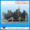 preço de fábrica de aço inoxidável promocionais Titular de cartão de visita