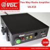 De bidirectionele RadioVersterker van de Macht vr-P25 met Microfoon