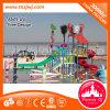 Campo de jogos de pulverização da água do miúdo do brinquedo do paraíso aquático popular para a venda