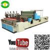 Hochgeschwindigkeitsselbstrollen-Gewebe-Tuch-Küche-Papiermaschine, die Geräte herstellt