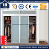 Алюминиевая раздвижная дверь рамки для шкафа шкафа