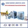 Machine de fabrication de brique Qty9-18 concrète hydraulique complètement automatique