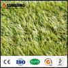 Hierba de alfombra plástica verde coloreada decoración del precio bajo