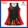 Sublimation Cheap Netball Dresses Skirt Chemises Vêtements