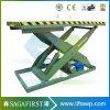 table élévatrice hydraulique de ciseaux de véhicule électrique de 3000kg 4000kg 5000kg
