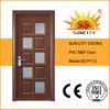 De qualité porte de PVC de modèle simplement (SC-P113)