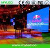 Exhibición de LED de alta resolución a todo color de interior del vídeo
