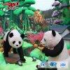 Viva la decoración del parque de simulación Artificial Panda modelo de venta