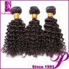 Negro natural virgen 5A rizado rizado cabello indio Virgen mayorista