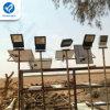 El ahorro de la energía solar de Bluesmart enciende la lámpara de inundación solar del LED