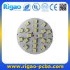 Placas de circuito impresso de alumínio do círculo com diodo emissor de luz