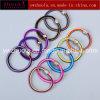 Corda colorida de cabelo elástico para mulheres