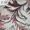Tela de tapicería del telar jacquar del estilo de la hoja