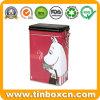 [فوود غرد] مستطيلة قهوة قصدير صندوق مع غطاء بلاستيكيّة سدود