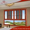 Ventana de desplazamiento del grano de madera/metal de aluminio Windows con la pantalla de la mosca