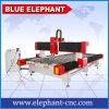 Blauwe CNC van de Steen van de Olifant Router, 3D Machine van de Gravure van de Brief van de Steen van het Beeldhouwwerk voor de Marmeren Grafsteen van de Grafzerk van het Graniet