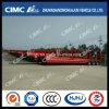De Semi Aanhangwagen 3axle Lowbed Cimc van Huajun (40T LADING) 14.5m met Concave Straal