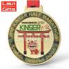De Chinese Medaille van de Club van de Leeuw van het Golf van het Metaal van de Douane van de Fabrikant 3D