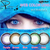 Косметика Brown Hazel покрасила контакты, изготовление контактных линзов
