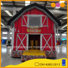 Casa inflável do salto da galinha do tema da exploração agrícola para o supermercado (AQ150-1)