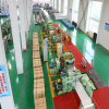 Installation de fabrication de bobine d'acier inoxydable