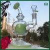 ガラス煙る管10インチのアメリカの蛍光性の緑のすてきな卵の