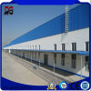 Camere bene isolate del personale della struttura d'acciaio nell'impianto di lavorazione