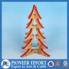 Decorazione di legno della Tabella dell'albero di Natale dell'imballaggio di Kd