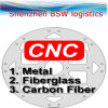 Peças da placa do carbono do carro do CNC RC, peças do carro de RC (ferragem)