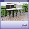 바 의자 안뜰 가구 편평한 고리 버들 세공 Barstool 옥외 가구 (J408)