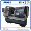 Máquina de torno CNC de alta precisão com Tailstock manual