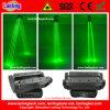 400MW Green 8 Eyes, das Spider Beam Laser Light Verschiebt-Head