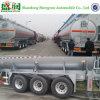 50000L Oplegger 3 van de Olietanker van het aluminium De Semi Aanhangwagen van de Tank van de Brandstof van Assen