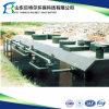 fábrica de tratamento residencial subterrânea da água de esgoto 400tons/Day, descarga desobstruída da água
