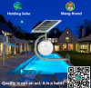 Lámpara de pared solar de IP65 LED con control ligero inteligente