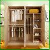 4 أبواب خشبيّة لوح خزانة ثوب خزانة