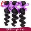 100%の人間の毛髪の拡張緩い波のヨーロッパ人の毛