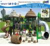 De houten Binnenplaats Playsets HF-10602 van de Dia van de Kinderen van de Eigenschap van het Dak