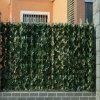 Barriera artificiale del recinto del foglio delle barriere della stuoia esterna verde delle pareti