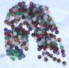 반 보석 형식 수정같은 구슬 구체 공 원석 Jewelry<Esb02705>