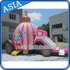 Princess gonfiabile Carriage Bounce House per Girl Birthday Party
