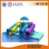 Campo de jogos da água da corrediça de água da piscina