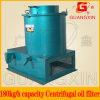 Funcionamento fácil do tipo centrífuga máquina de separação de resíduos de óleo