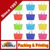 Pack surtido de colores reutilizable Non-Woven niños llevar bolsa de comestibles de compras por parte Favor (920076)