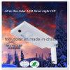 Resistente al agua 12W de iluminación de jardín solar integrada de la luz solar para Street