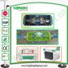 Poignée en plastique pour carte d'affichage Super Chariot de marché