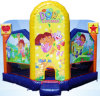 Strong PVC Bouncy Castle Combos, Bouncy Castles with Slide Combos