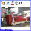 Machine de roulement hydraulique de rouleau de la norme quatre de la CE W12S-10X4000