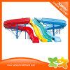 Огромный водный парк оборудования из стекловолокна радуга водные горки цена для продажи